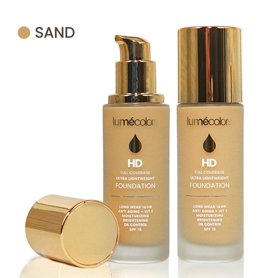 Lumecolors HD Full Coverage Ultra Lightweight Foundation - Sand