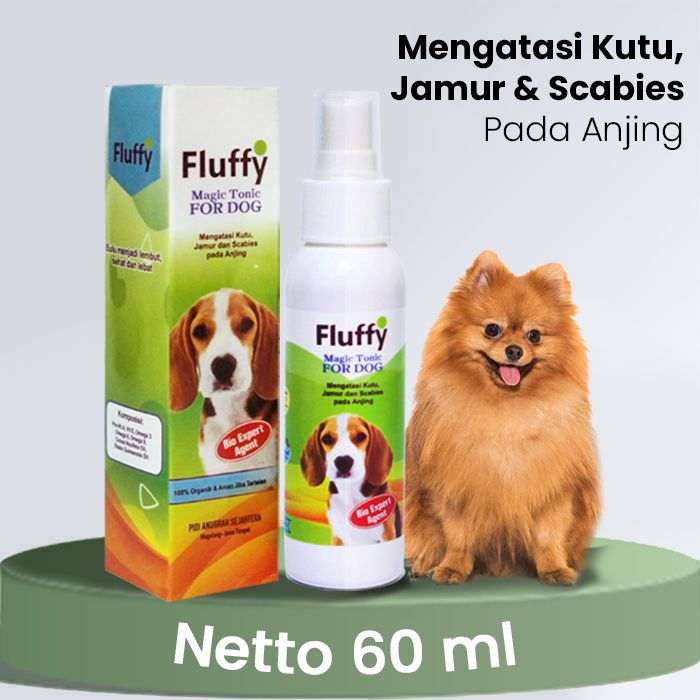 Fluffy Magic Tonic For Dog 60ml
