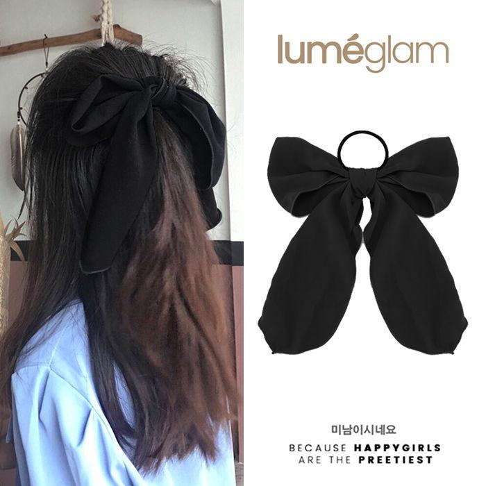 Pita Rambut Simpul Korea warna  Black-MAR180