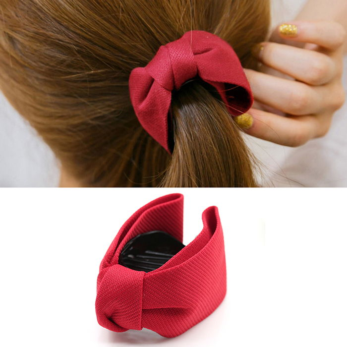 Japanese and Korean version of the new hair accessories, hair clip, ponytail clip, bow hair clip, grab clip, banana clip