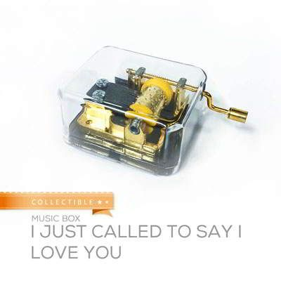 Collectible Music Box I Just Called To Say I Love You I Just Called To Say I Love You