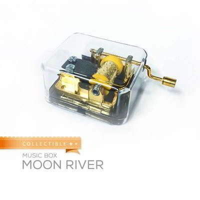 Collectible Music Box Moon River Moon River
