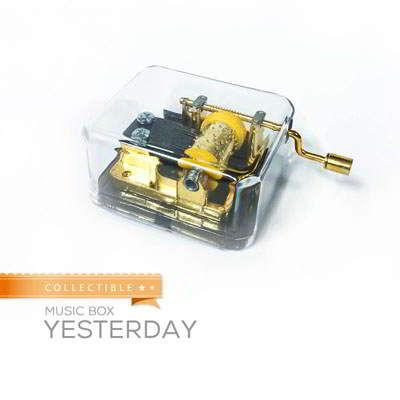 Collectible Music Box Yesterday Yesterday