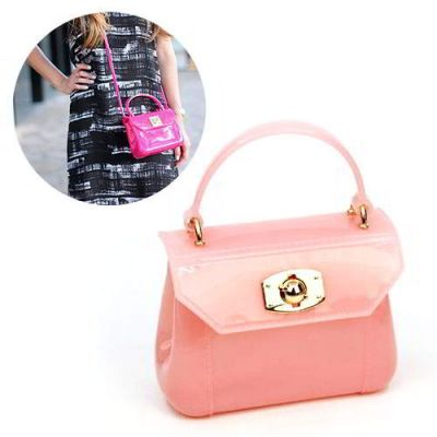 Furla Jelly Childrens Bag Portable Pink