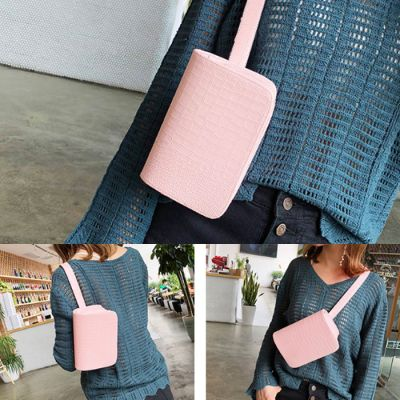 Leather Bag Small Pink