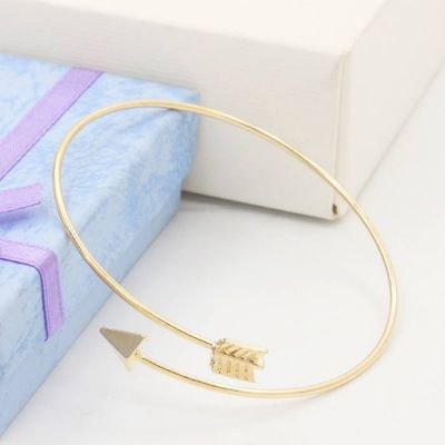 Arrow Shape Bracelet Gold
