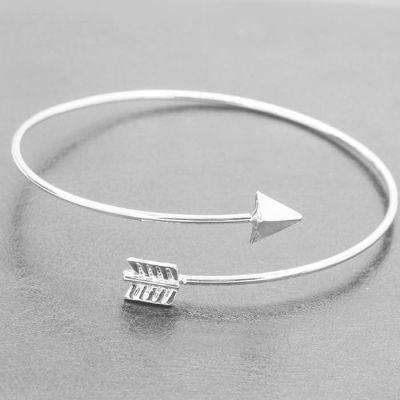 Arrow Shape Bracelet Silver