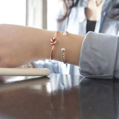 Knotted Bracelet Harga 1pcs Rose Gold