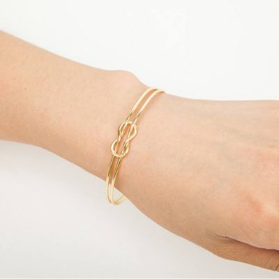 Geometry Double Bracelet Gold