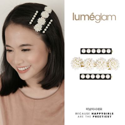 Europe And The United States Of Pearl Flowers A Cross Border Supply Of Simple Versatile Resin Hair Clips Gold