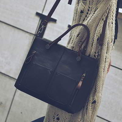 Design Square Simple Handbag
