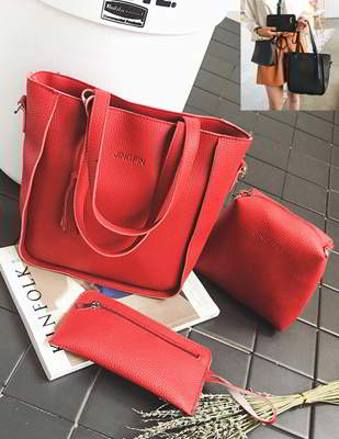 Tassel Handbag 4 Pcs
