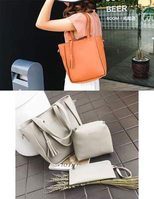 Tassel Handbag 5 Pcs