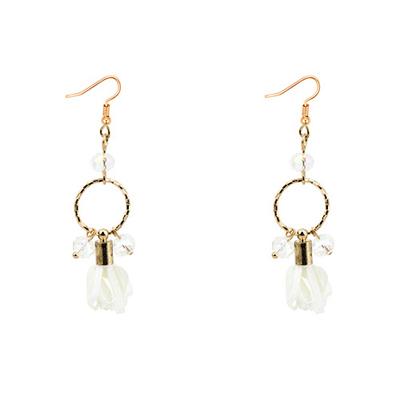 round shape earrings