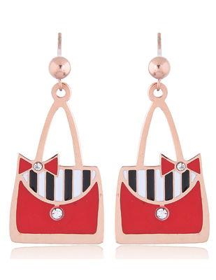 Forever21 handbag shape earrings
