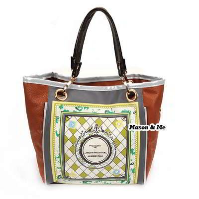 Korean woman fashion vintage pattern charm design handbag shoulder bag