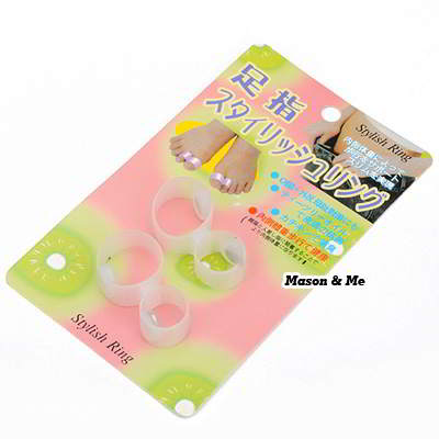 Magnetic single Toe Ring [Slimming] JAPAN Health Product(two pieces in one)