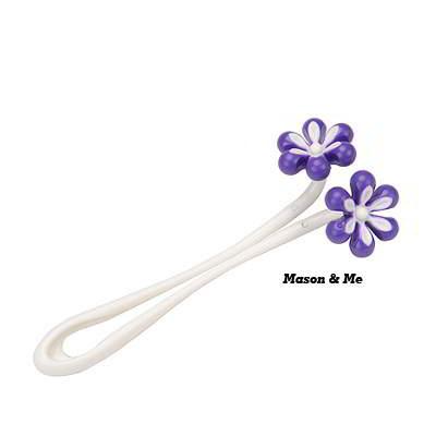 Portable six petal flower shape face neck roller massager
