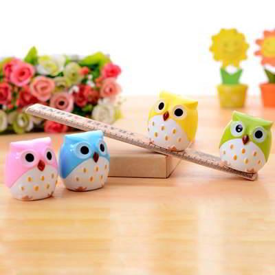 Owl Shape Simple Design (Rautan Pensil)