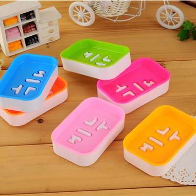 Double Layer Square Shape Design Soap Box
