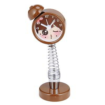 girl pattern alarm clock design