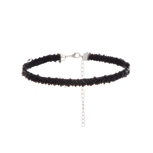 Choker beads short chain