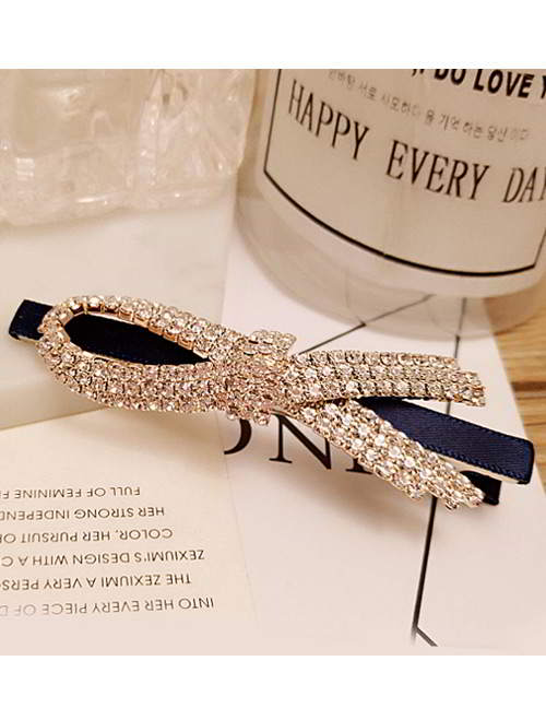 Forever21 bowknot diamond hairpin