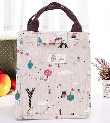 cartoon square waterproof handbag