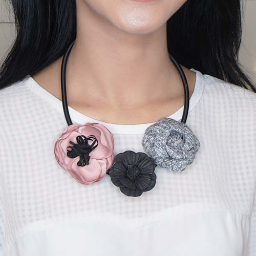 necklace suede clothing accessories