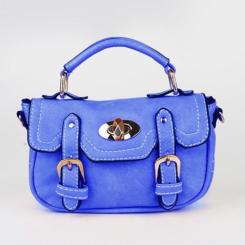 Orange peel handbag