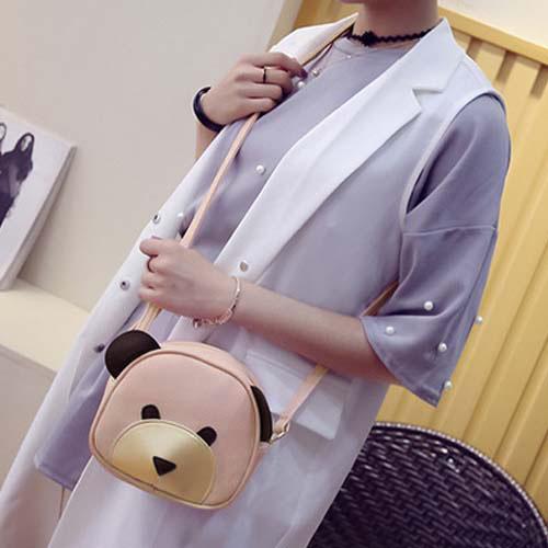 Shoulder Fashion Bear Cartoon Handbags