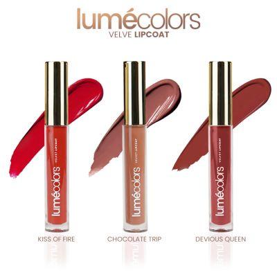Lumecolors velvet lipcoat Tease Nudes Collection (set of 3)