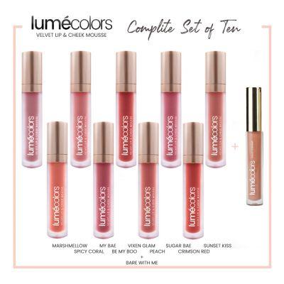 Lumecolors Velvet Lip & Cheek Mousse - Lip Craves